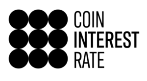 Coin Interest Rate logo - black
